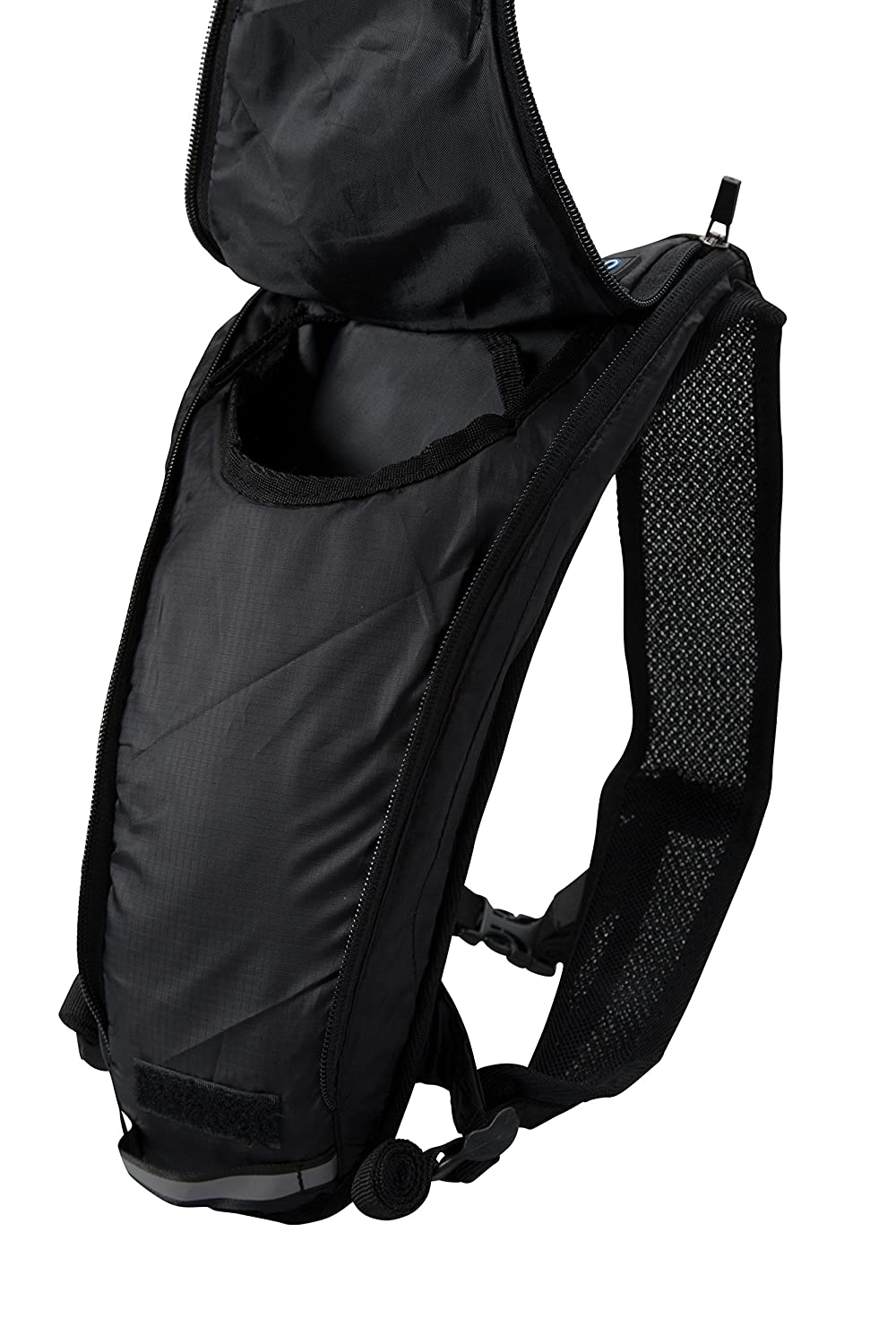 Amazon.com : Mountain Warehouse Track 2L Hydro Bag - Breathable Hydration Pack Black : Sports & Outdoors