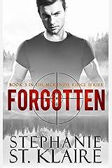 Forgotten (The McKenzie Ridge Series Book 3) Kindle Edition