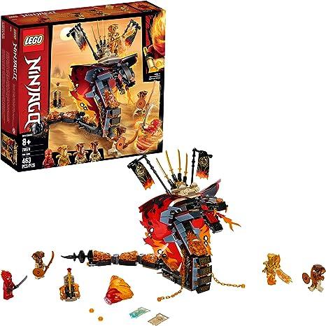 Amazon.com: LEGO Ninjago Fire Fang 70674 Kit de construcción ...