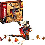 LEGO NINJAGO Fire Fang 70674 Snake Action Toy Building Set with Stud Shooters and Ninja Minifigures Characters, Perfect…