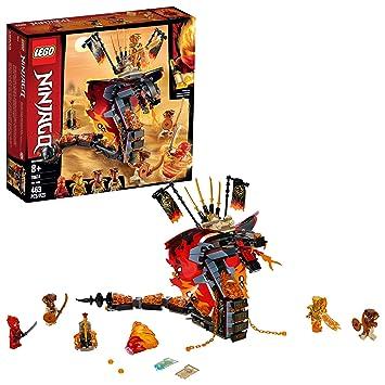 LEGO Ninjago 70674 Colmillo de Fuego (463 Piezas): Amazon.es ...