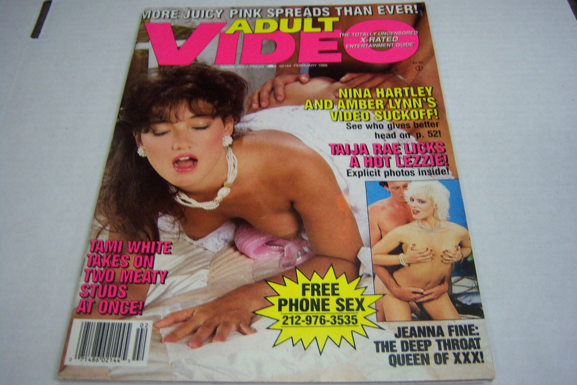 Adult Video Magazine X-rated Entertainment Guide