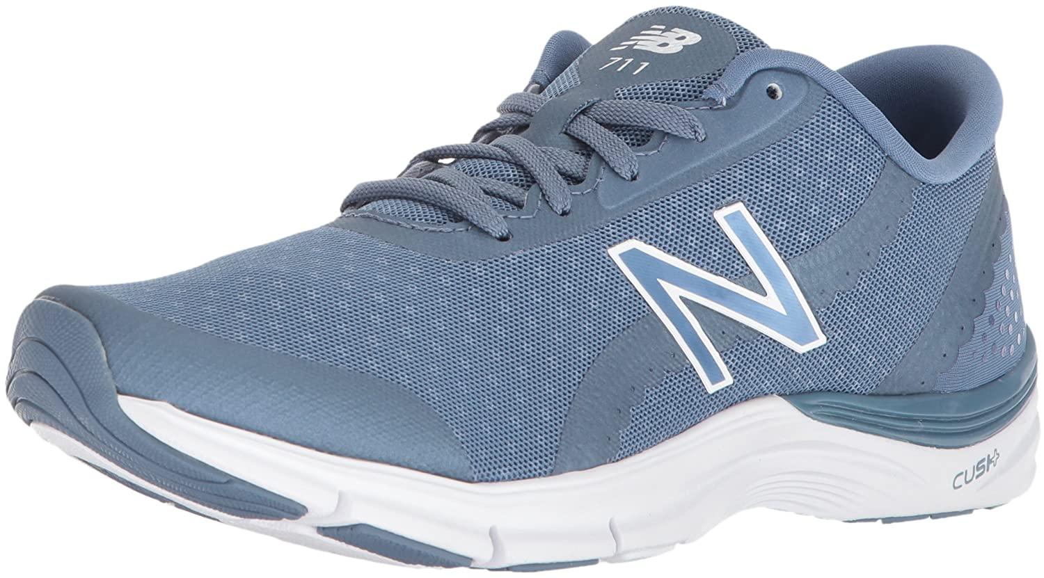New Balance Women's 711v3 Cross Trainer B074VK6J7K 10.5 B(M) US|Vintage Indigo/White
