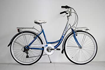 Bicicleta clásica de ciudad tipo holandesa para mujer, rodado 26, 6 ...