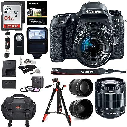 3830f6690a22b Amazon.com   Canon EOS 77D Camera