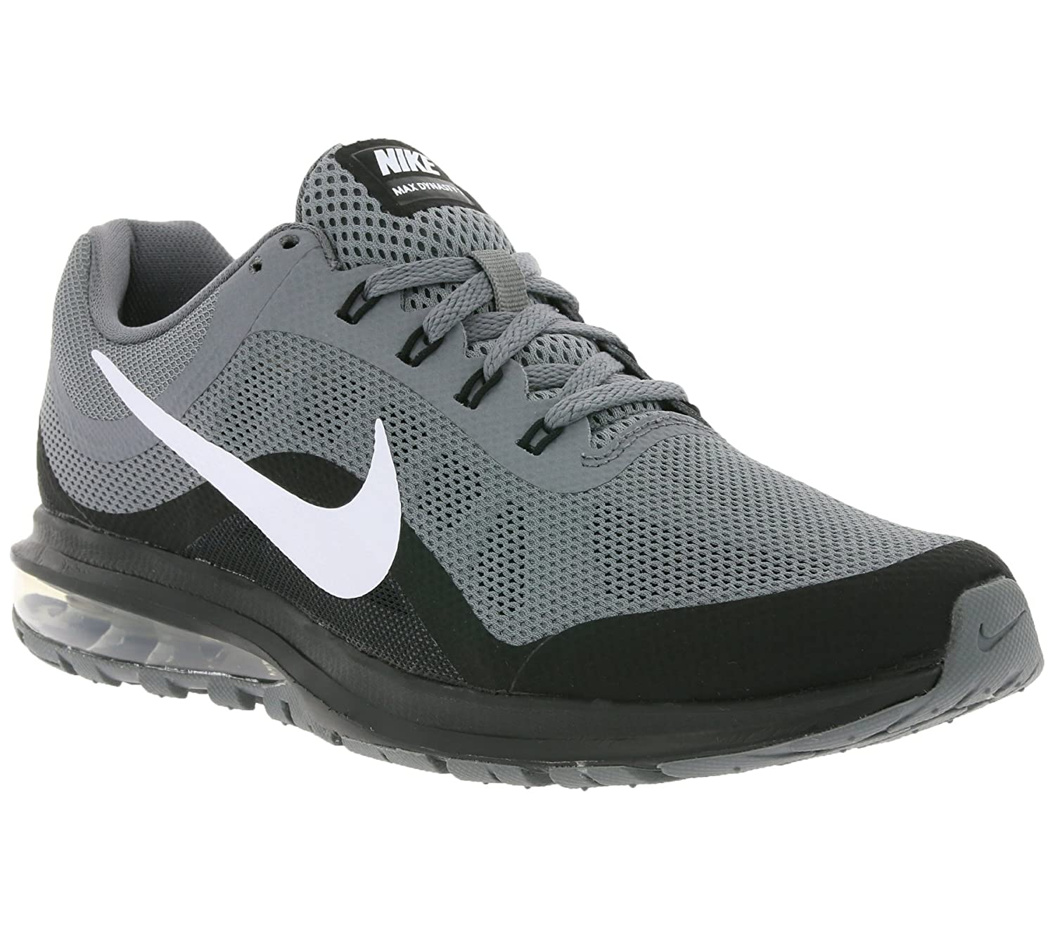 Nike Mens Air Max Dynasty 2 Running Shoes (9.5 M US, Cool GreyWhite Black)
