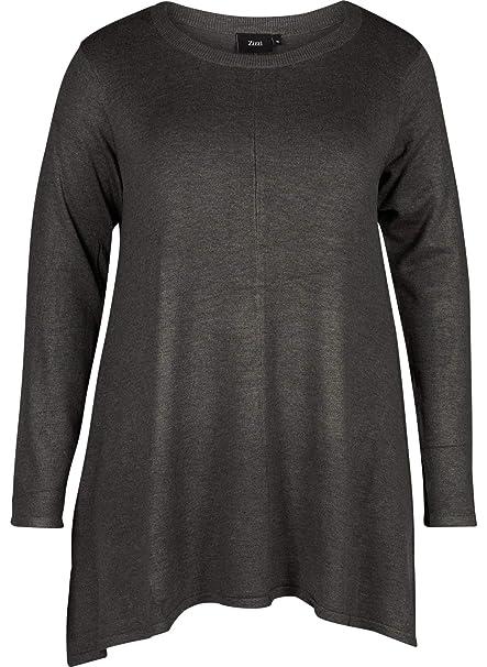 taglia 56 X 54 Camicia s Zizzi 0199 large Produttore Knit Nero L Blouse Donna Vcilla black wnqCgZ7