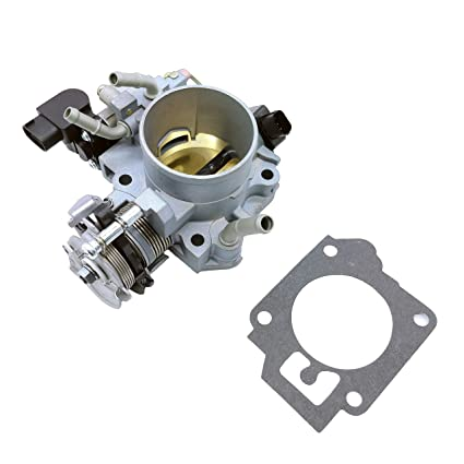 Throttle Body with Gasket For 2003 2004 2005 Honda Accord DX LX EX 2.4L16400RAAA62