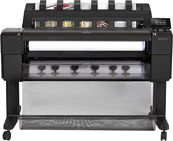 HP Designjet T1530 - Impresora de gran formato (HP-GL/2, HP-RTL, PDF 1.7, PostScript 3, TIFF, URF, 2400 x 1200 DPI, Cian, Gris, Magenta, Negro mate, Foto negro, Amarillo, A0 (841 x 1189