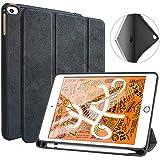 iPad Mini 5 2019 ケース 軽量 薄型 PU レザー スマート カバー 耐衝撃 傷防止 三つ折り スタンド オートスリープ ウェイクアップ ハニカム放熱 iPad mini 4とmini 5が通用できるタブレット専用ケース