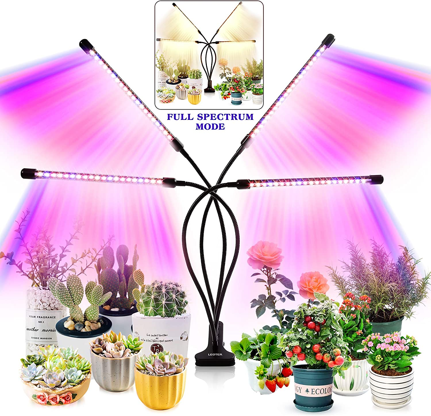 LEOTER Grow Light for Indoor Plants