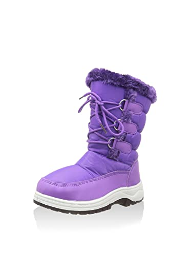 d'hiver KIMBERFEELBottes Mixte Enfant Violet Violet 67gybf
