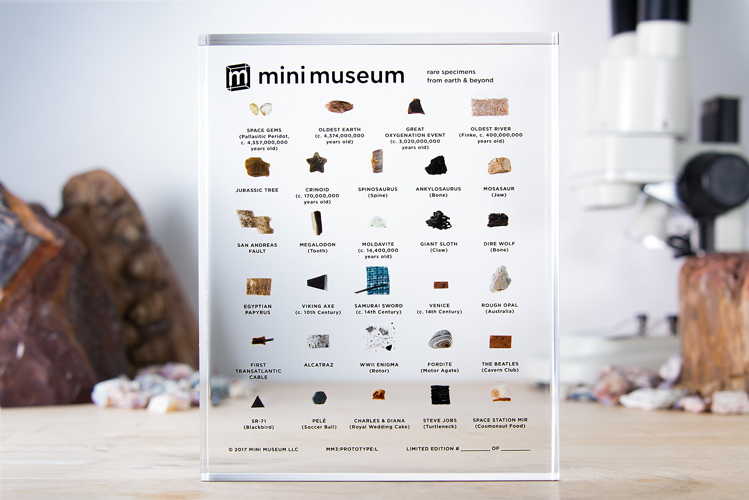 Mini Museum | Science and History Collection | 29 Specimens by Mini Museum (Image #3)