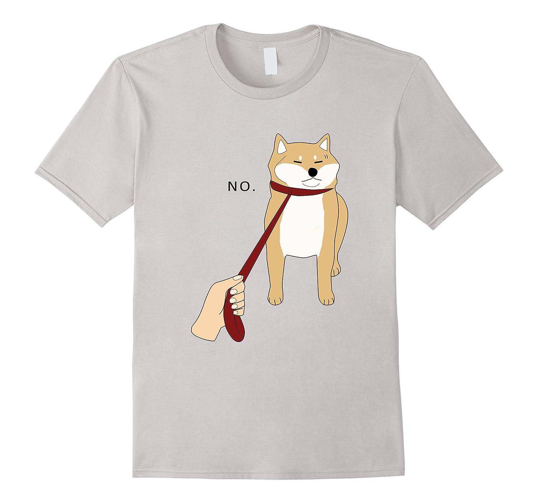 Cute Shiba Inu Shirt Nope - Doge Meme T-shirt W-FL