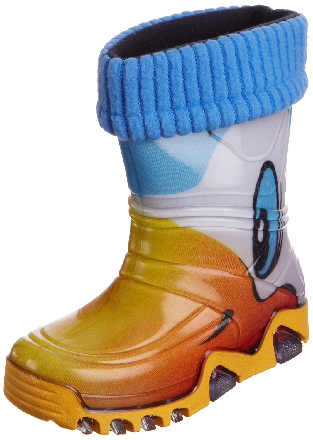 Toughees Shoes Warm Fleece sock Duck Wellies Botas de agua de pvc