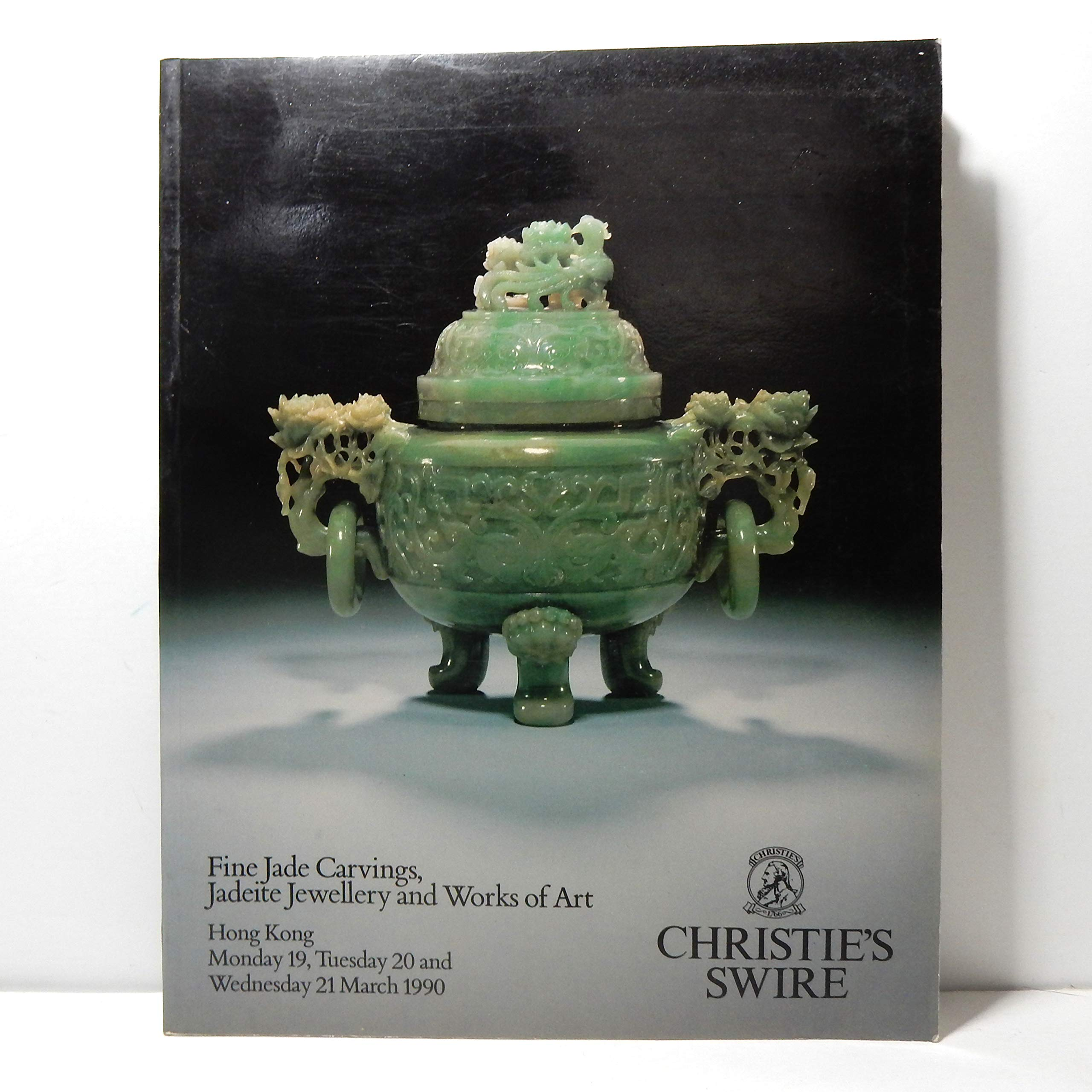 Fine Jade Carvings Jadeite Jewellery And Works Of Art Hong Kong March 19 21 1990 Christie S Christie S Books