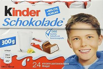 Amazon.com : Ferrero Kinder Chocolate, 24 pieces : Candy And ...