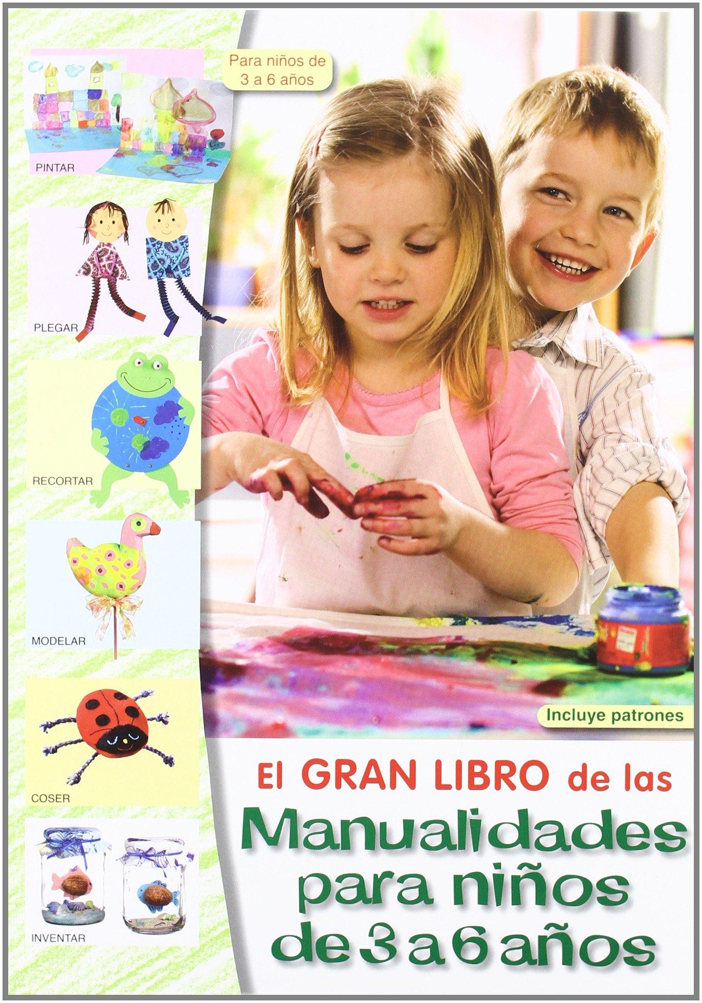 El Gran Libro de las Manualidades Para Niños de 3 a 6 Años: Amazon.es: Artistas varios: Libros