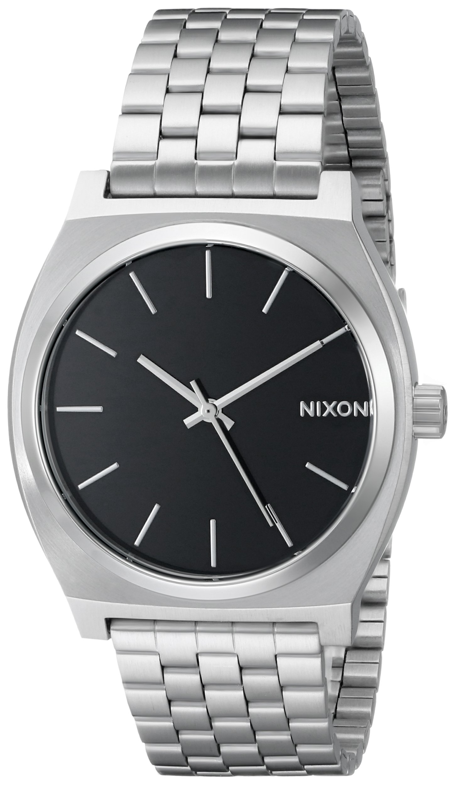 Nixon Unisex Time Teller Japanese quartz Stainless Steel watches Black A045