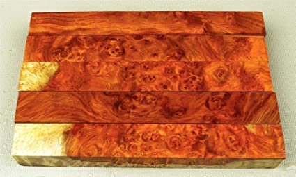 release info on outlet for sale factory authentic Top Shelf, High Figure Amboyna Burl Long Pen Blanks, Carving ...