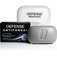 Defense Antifungal Medicated Bar Soap | Intensive Treatment for Athlete's Foot Fungus and Fungal Infections of The Skin…