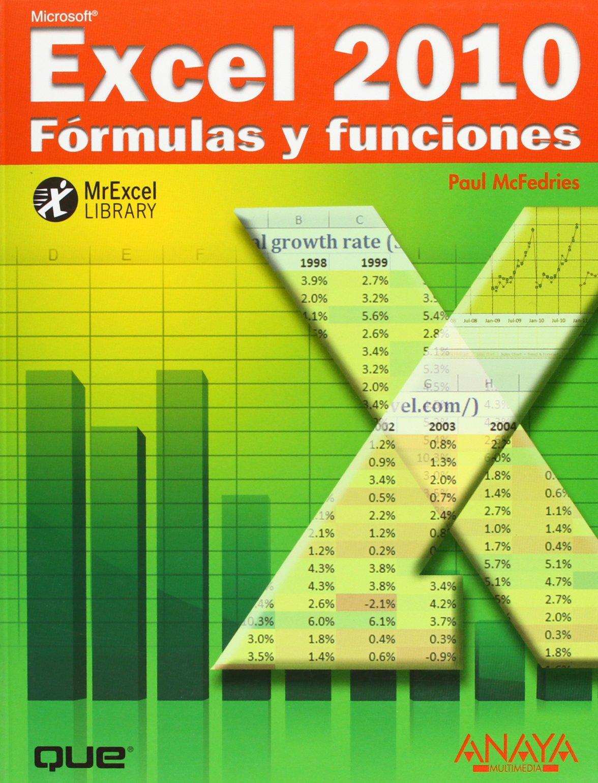 Excel 20. Fórmulas y funciones Títulos Especiales Amazon.de ...