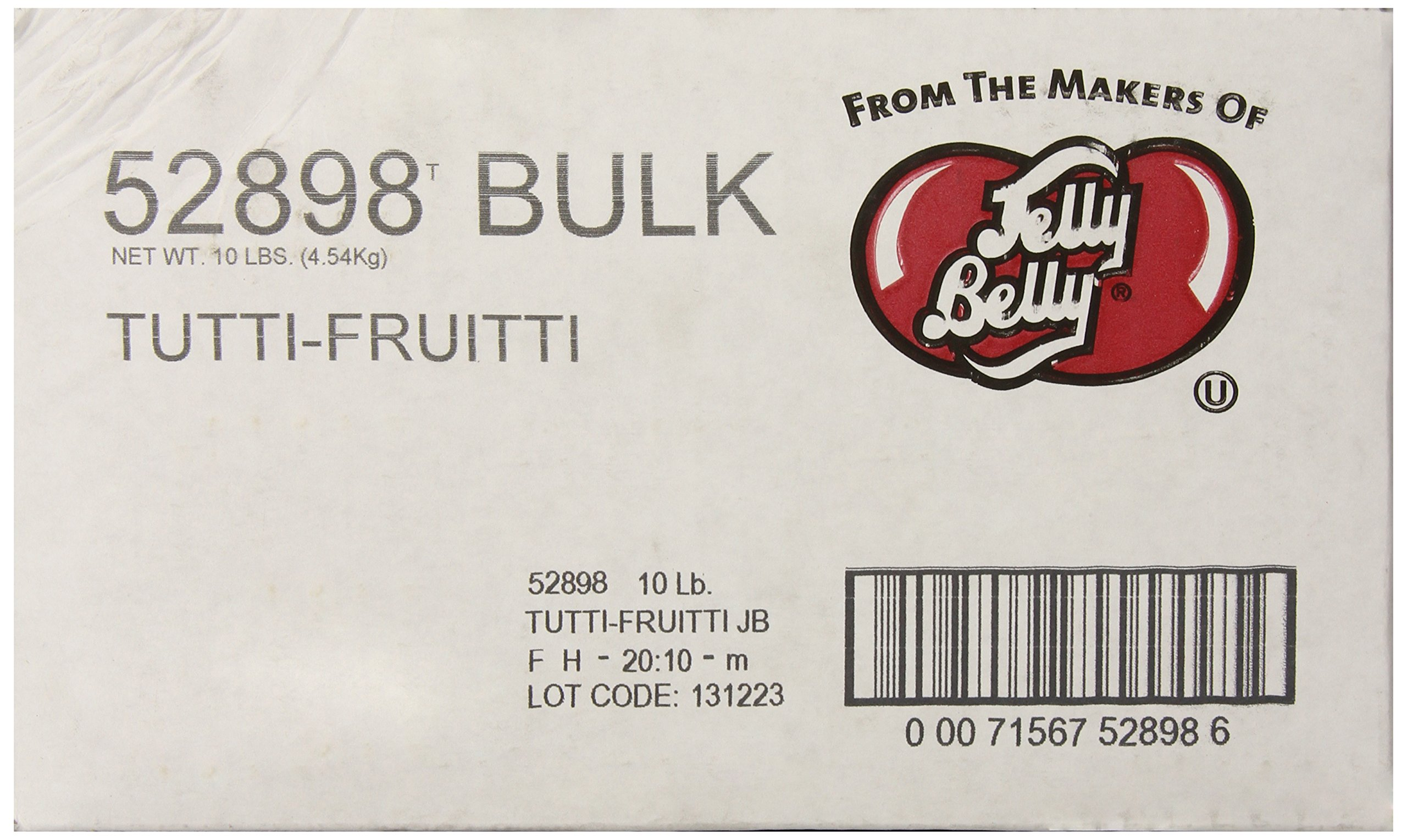 Jelly Belly Tutti-Fruitti Jelly Beans, 10-Pound Box