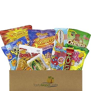Amazoncom Snacks From Around The World Caribbean Snack Box