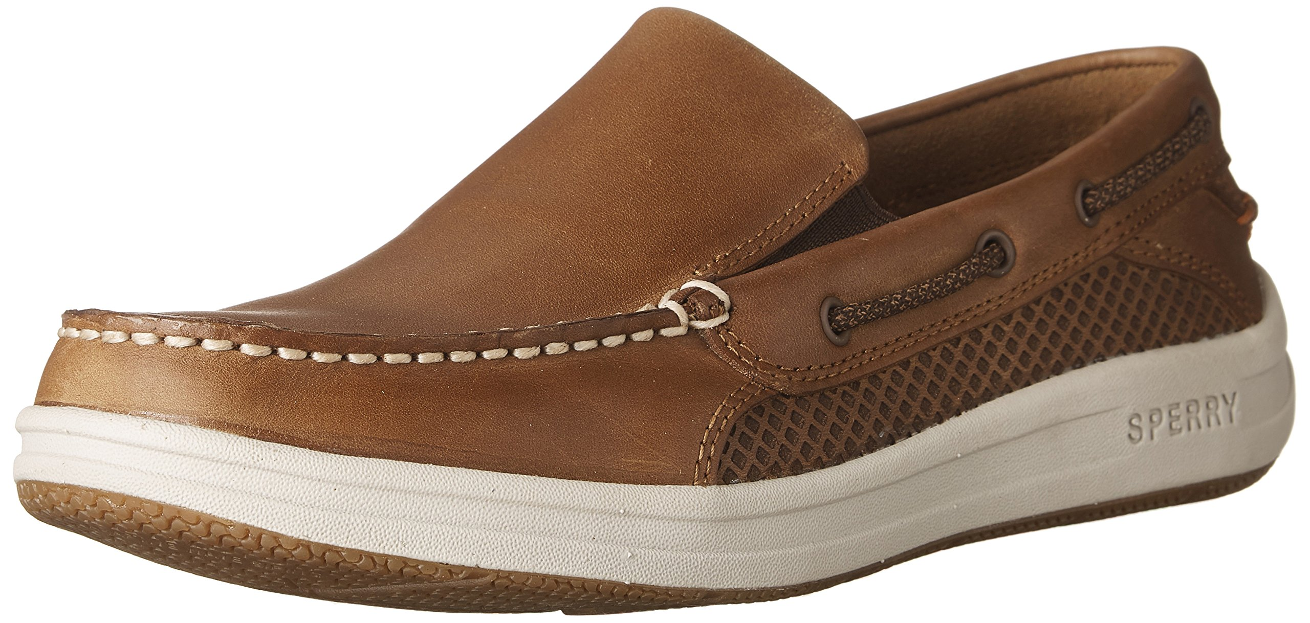 Sperry Top-Sider Men's Gamefish Slip On Boat Shoe, Dark Tan, 10.5 M US by Sperry Top-Sider (Image #1)