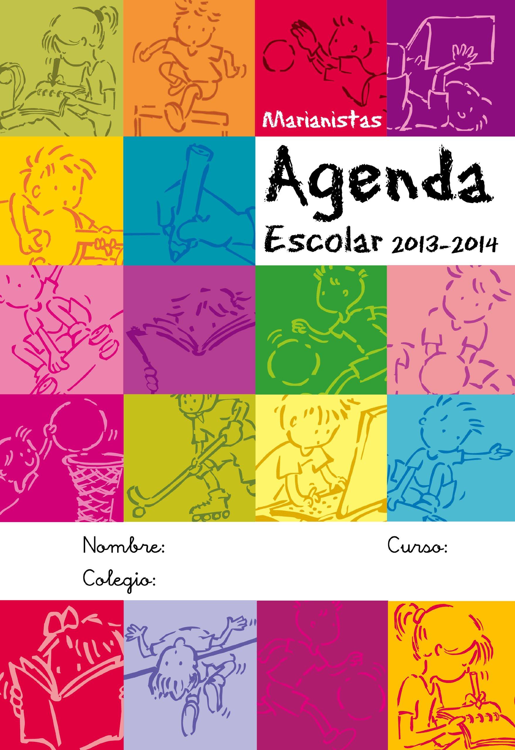 Marianistas. Agenda escolar 2013-2014. Primaria: Amazon.es ...