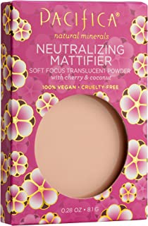product image for Pacifica Beauty Neutralizing Mattifier Cherry Powder, Natural Minerals for All Skin Types, Vegan & Cruelty Free, 0.28 Ounce