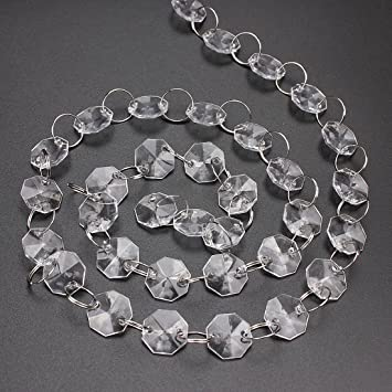 5 meter plastic chandelier crystal beads garland for wedding 5 meter plastic chandelier crystal beads garland for wedding garland christmas party decor mozeypictures Gallery