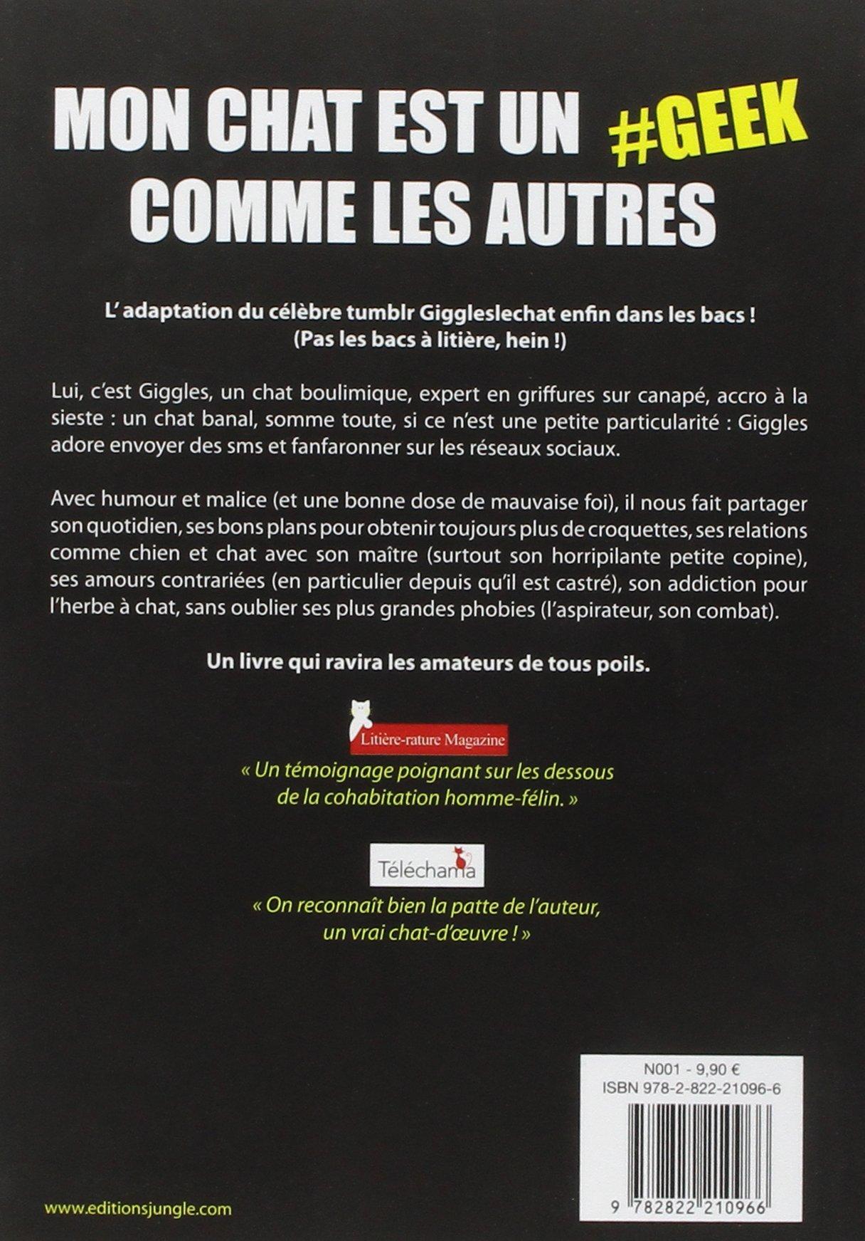 Amazon Fr Mon Chat Est Un Geek Comme Les Autres Florian
