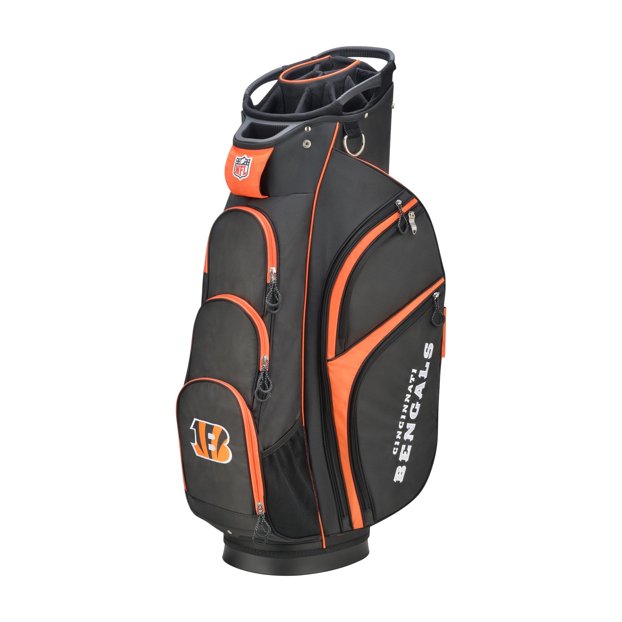 Wilson 2018 NFL Golf Cart Bag, Cincinnati Bengals by Wilson