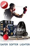 VALANDRES Boxing Reflex Ball Complete Bundle – Premium Fight Ball Boxing Equipment Kit for Hand Eye Coordination Training for Kids and Adults