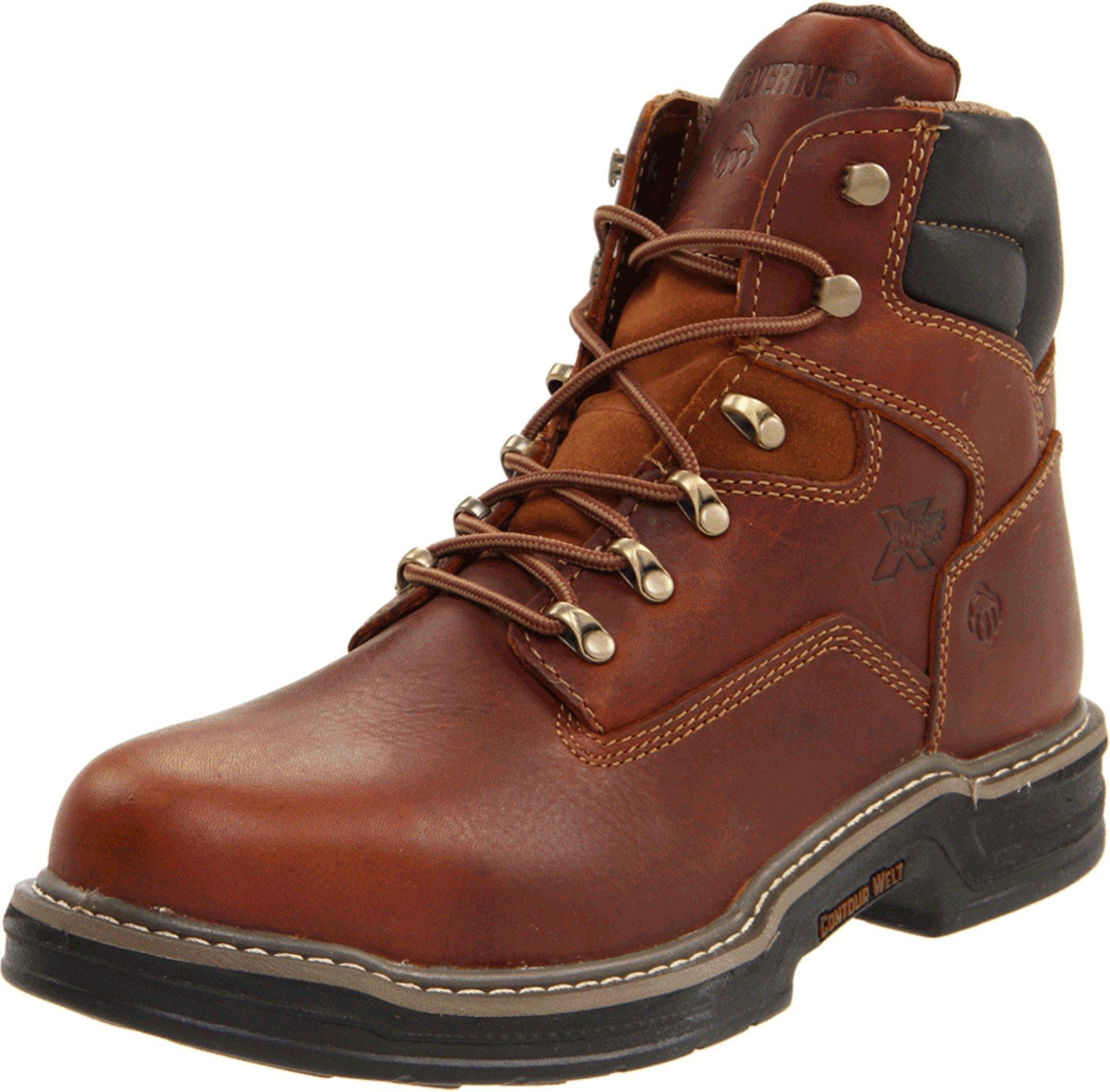 Wolverine Men's W02419 Raider Boot, Brown, 11 XW US