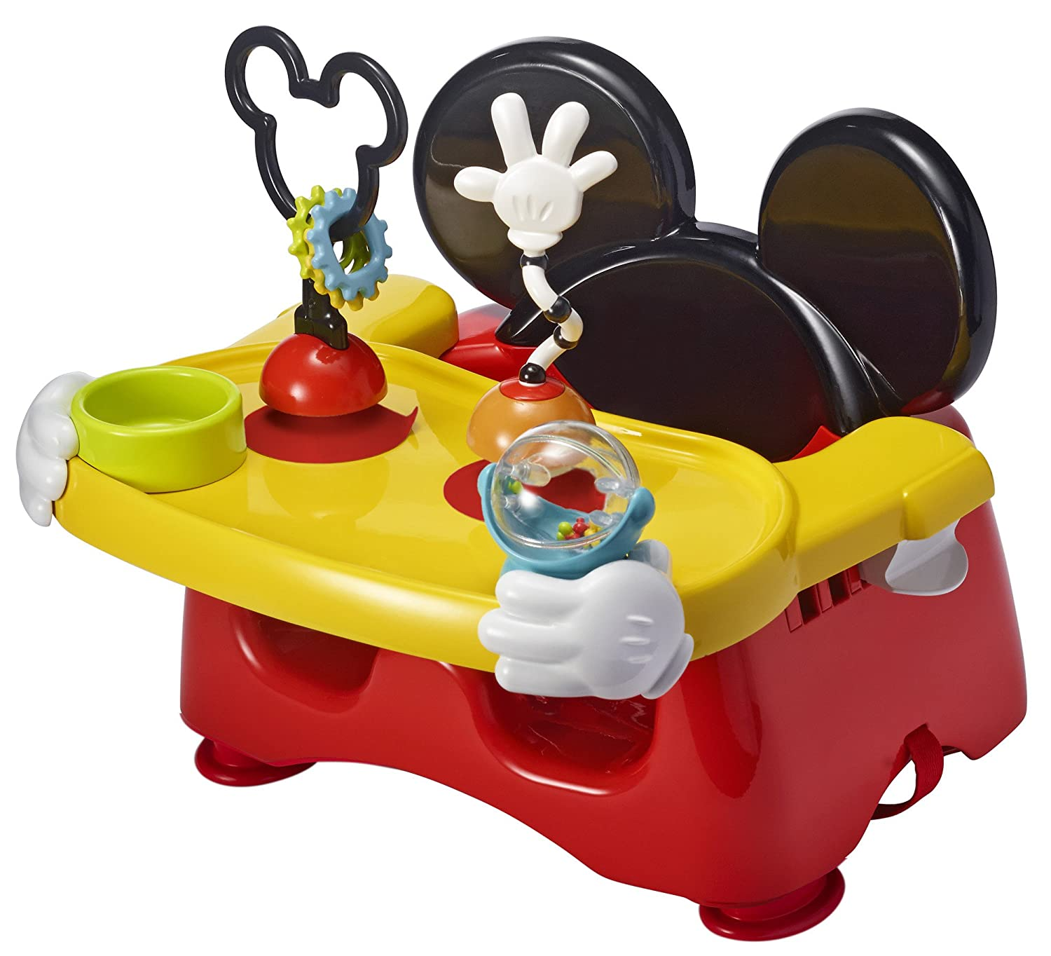 The First Years Disney Baby Helping Hands Feeding and Activity Seat, Mickey Mouse Y10529A1