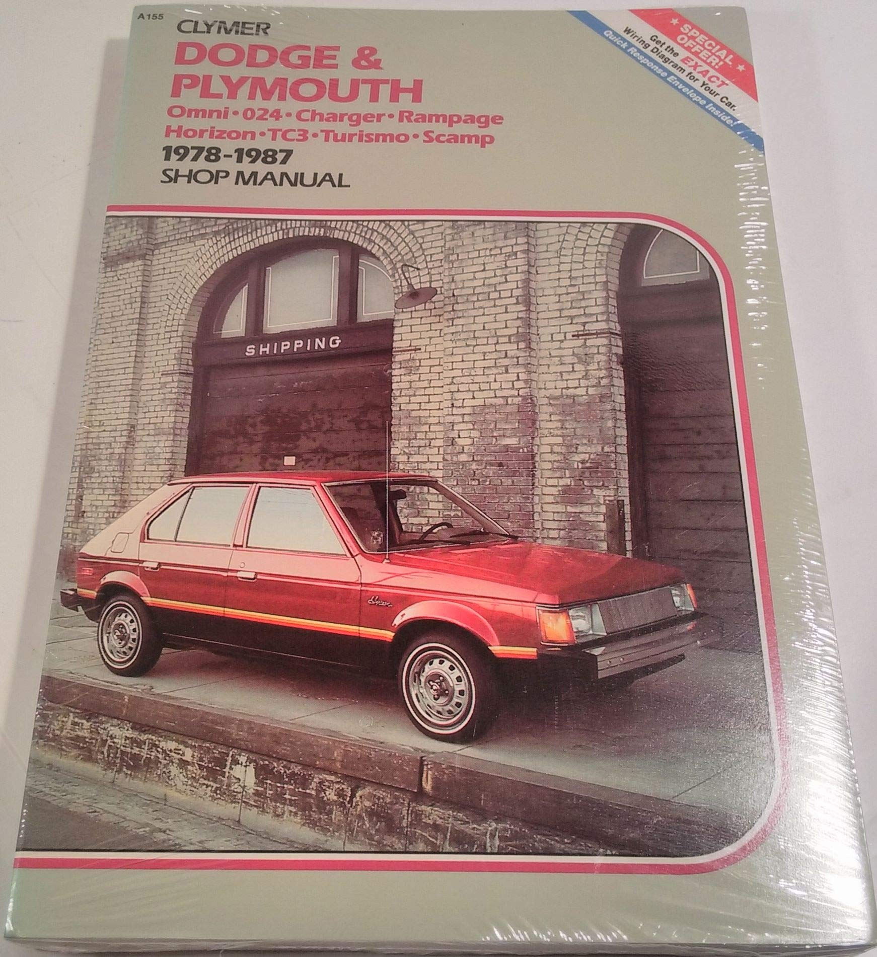 Dodge Plymouth Omni 024 Charger Rampage Horizon Tc3 Turismo Scamp Wiring Diagram 1978 1987 Shop Manual Alan Ahlstrand 9780892872978 Books