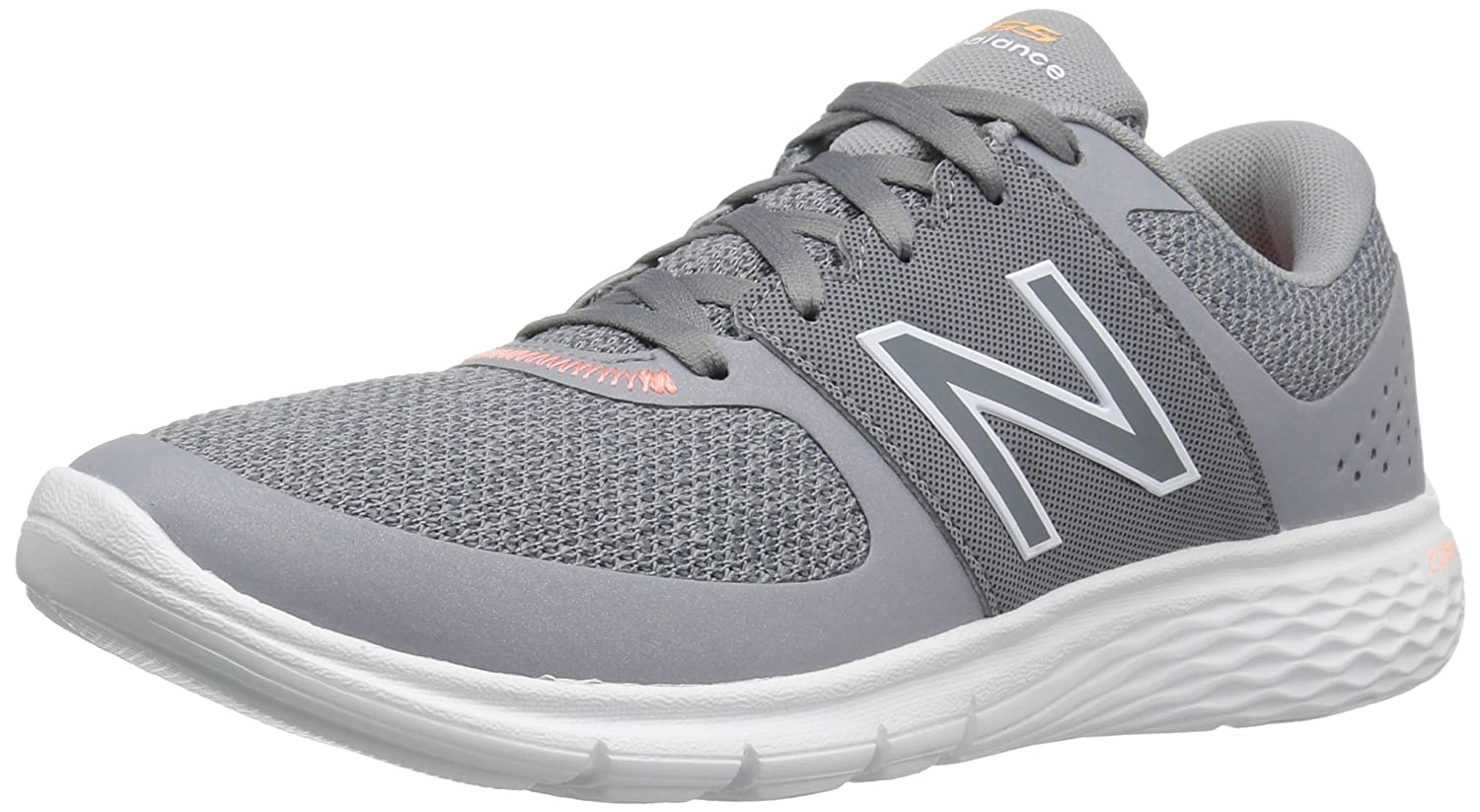 New Balance Women's WA365v1 CUSH + Walking Shoe B01FSIM4E8 9 D US|Grey/White