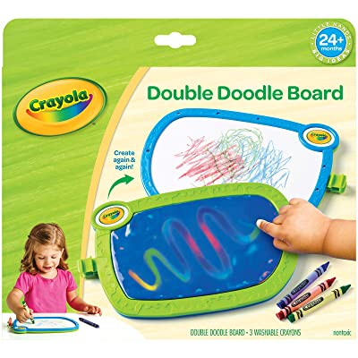 My First Crayola Double Doodle Board, Drawing Tablet, Toddler Toy, Gift: Toys & Games