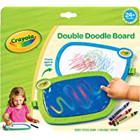 Crayola My First Double Doodle Board, Drawing Tablet, Toddler Toy, Gift