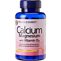 Holland & Barrett Calcium and Magnesium with Vitamin D3 120 Tablets, 120 count