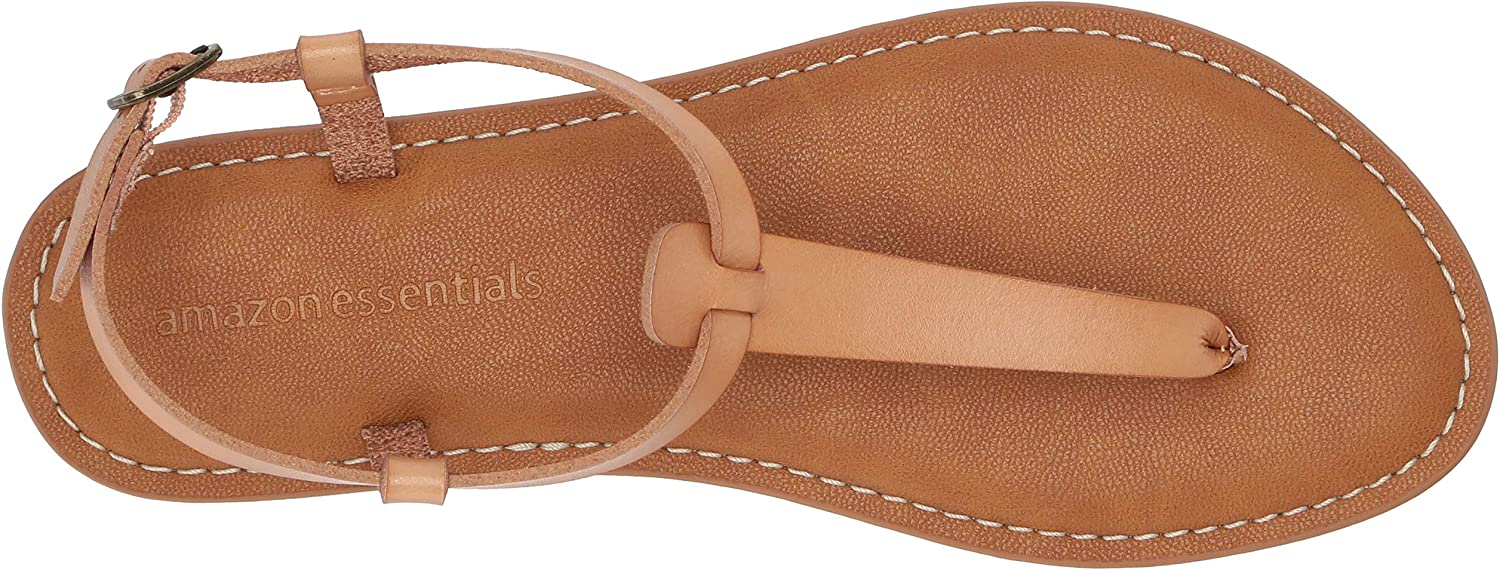Essentials Spano Womens Casual Thong with Ankle Strap Sandal Damen Sandal