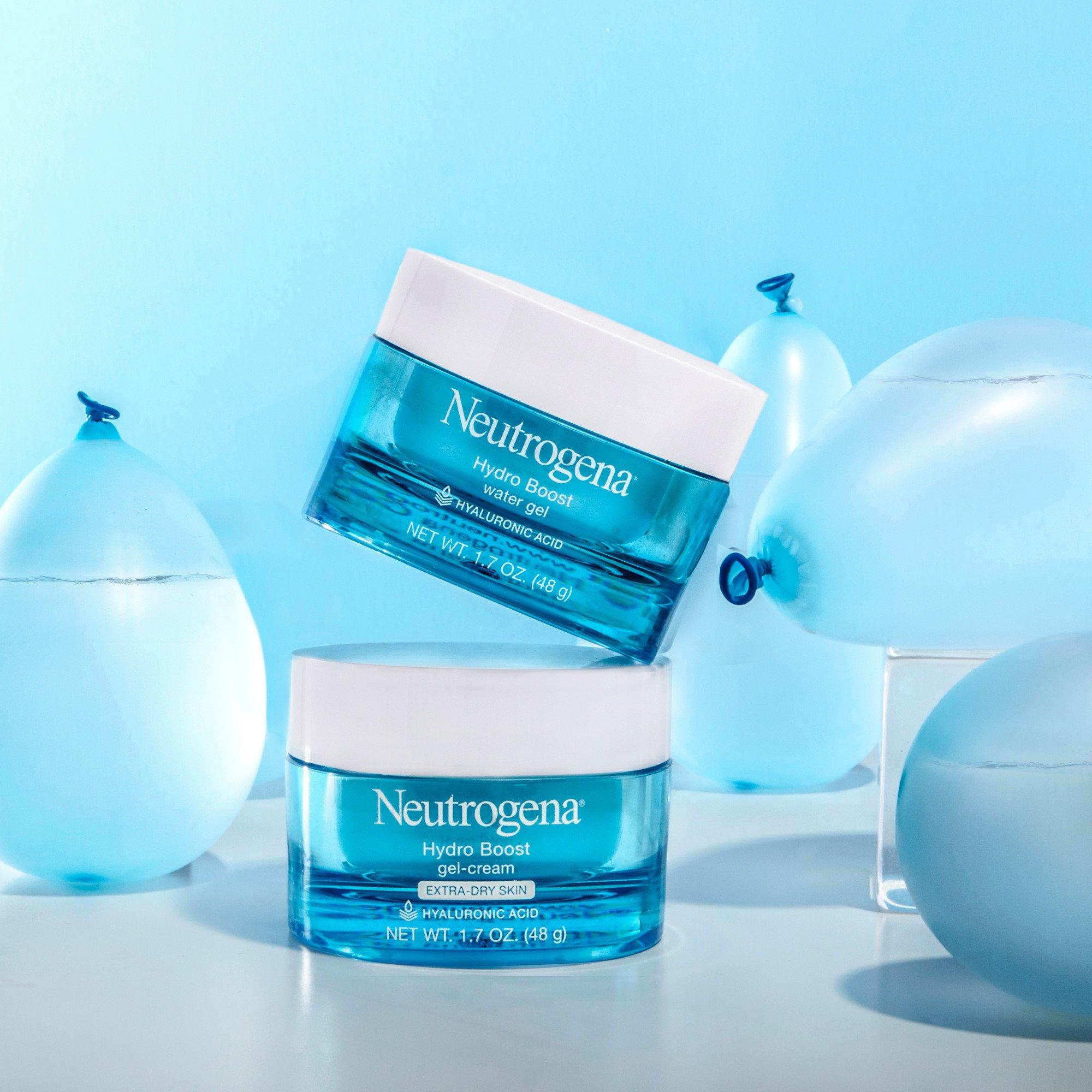Neutrogena Hydro Boost Hyaluronic Acid Hydrating Face Moisturizer Gel-Cream to Hydrate and Smooth Extra-Dry Skin, 1.7 oz by Neutrogena (Image #5)