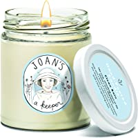 Joan's a Keeper Soy Wax Candle – Clean Rain Essential Oil Candle – Hand-Poured, Non-Toxic, Therapeutic, Burns up to 30 Hours - 8 Oz.