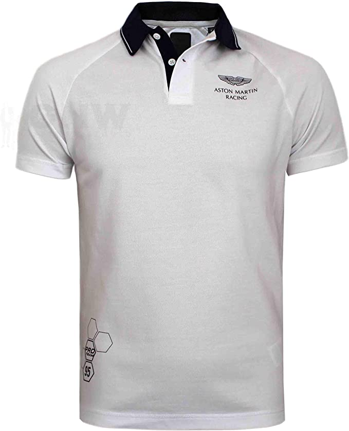 Hackett Aston Martin Racing Polo coupe ajusté