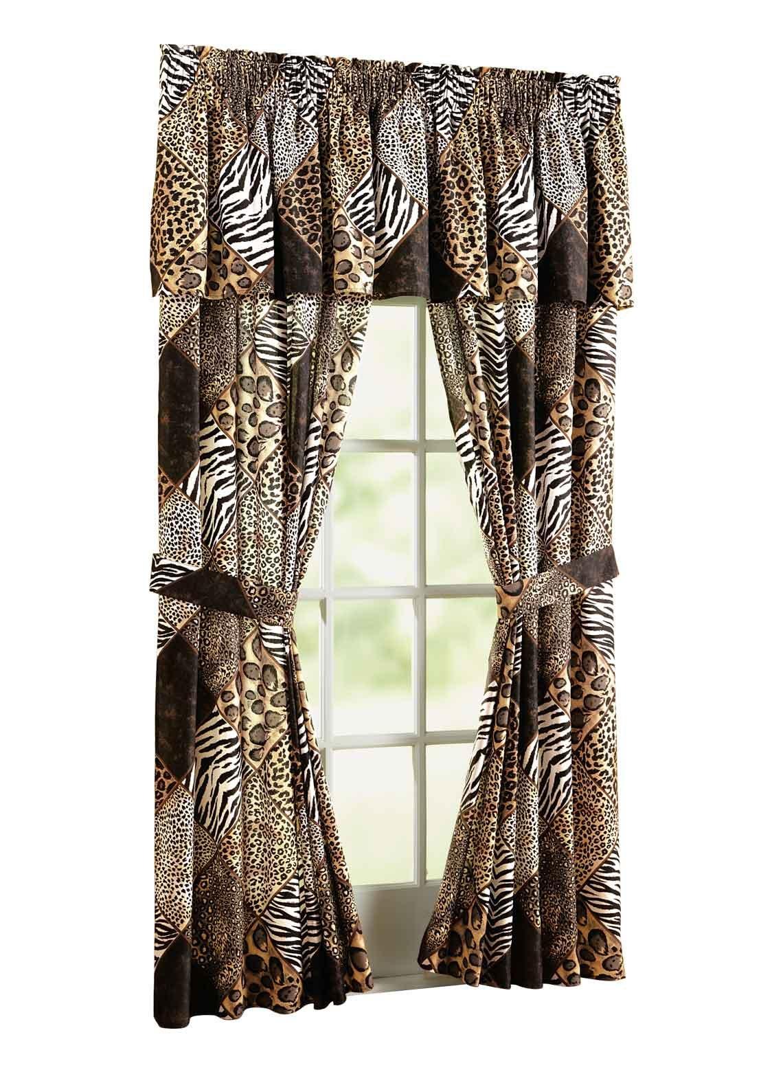 Carol Wright Gifts Safari Bedding Separates - Curtain