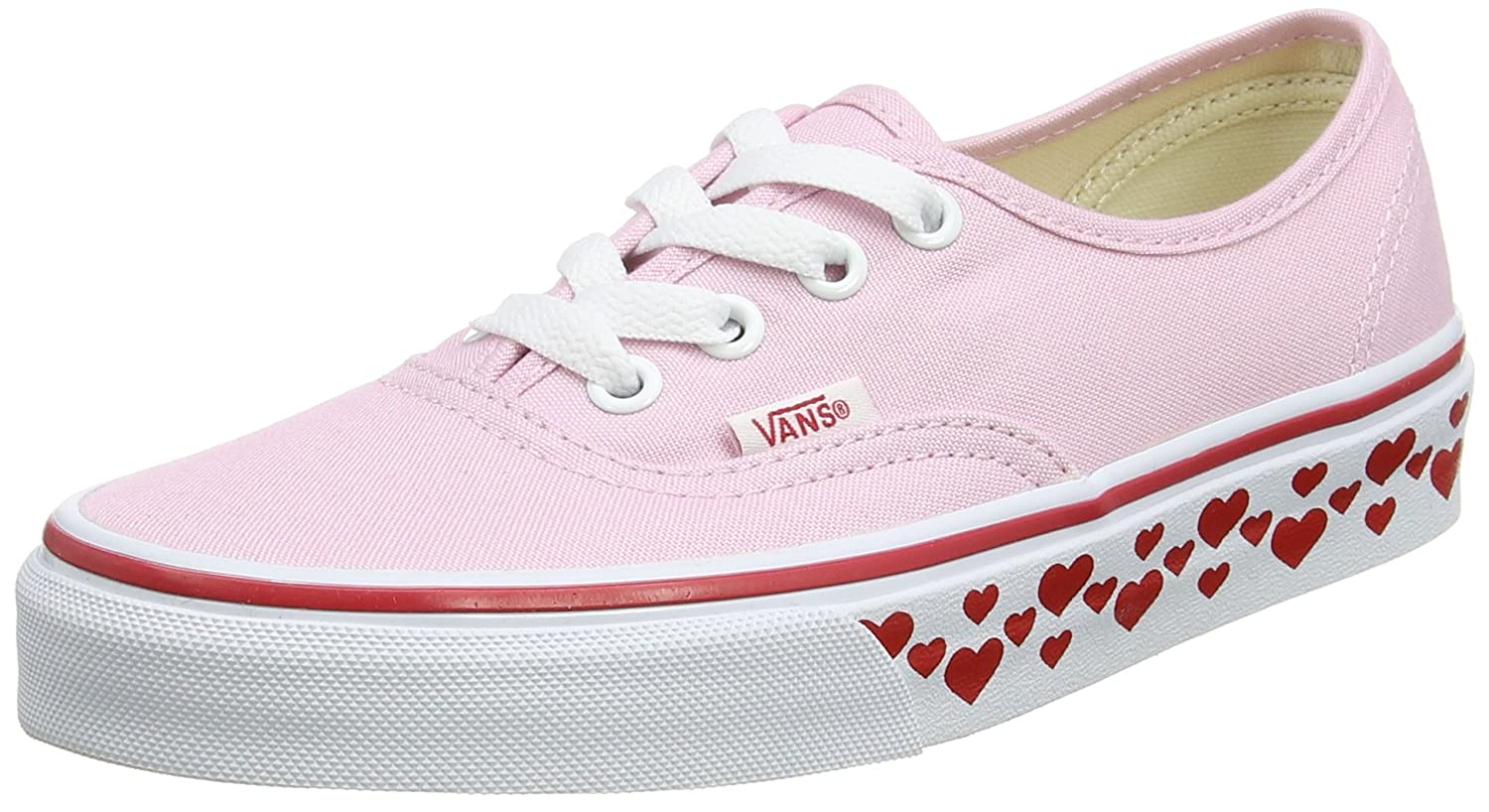 [バンズ] VANS VANS AUTHENTIC VEE3 B01I2EQ46Y 9 B(M) US Women / 7.5 D(M) US Men|Pink Lady/Red Pink Lady/Red 9 B(M) US Women / 7.5 D(M) US Men