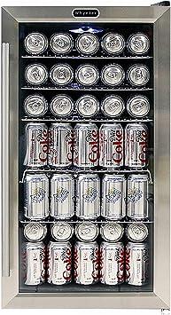 Whynter BR 130SB Beverage Refrigerator With I