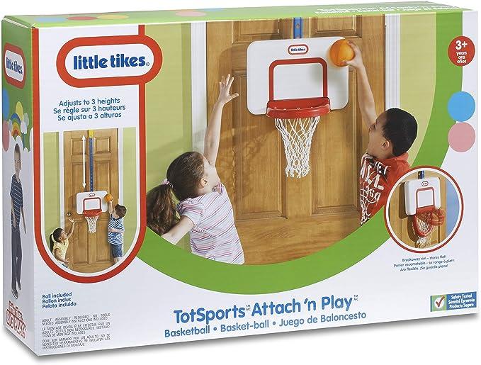 Little Tikes Attach' n Play Basketball Set - Best For Smaller Kids